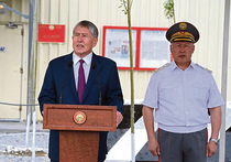 Сын Атамбаева собирается в армию