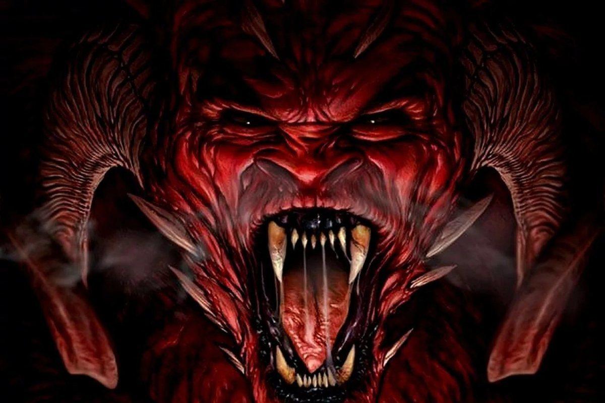 Сатана фото на аву